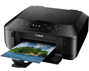 Canon PIXMA MG5520 Wireless All-In-One Color Photo Printer - Black