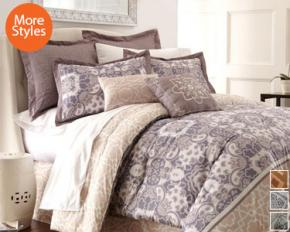 PCT Home Collection Monica 8-Piece Comforter Set - Queen