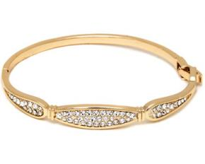 Sevil Designs White Sparkle Swarovski Bangle