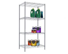 Sunbeam 4-Tier Wire Rack-Gray