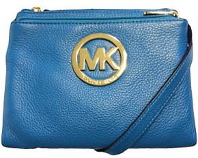Michael Kors Fulton LG Crossbody - Summer Blue