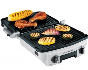 Big Boss 6-in-1 Stainless Steel Reversible Grill
