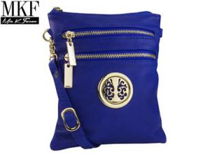 MKF Collection TRIOS Cross-Body Bag - Blue