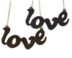 Jadore Bijoux Love Necklace - Gold Plated