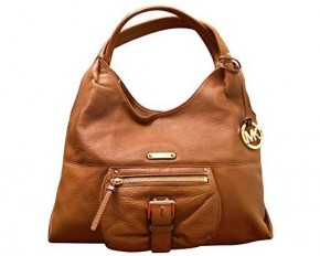 Michael Kors Austin Shoulder Tote - Luggage Brown