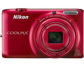 Nikon COOLPIX S6500 16-Megapixel Wi-Fi Digital Camera - Refurbished