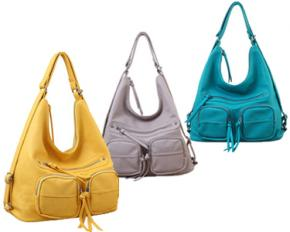 Melie Bianco Mikie Two In One Hobo - Yellow