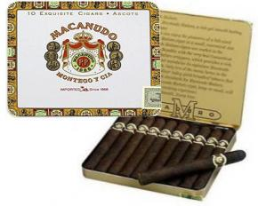 Macanudo Cafe & Maduro Cigars - Tin of 10