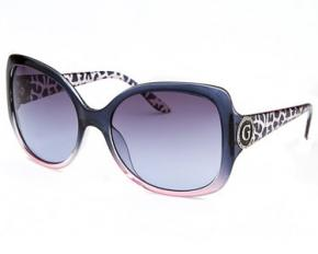 Guess Women's Square Gradient Sunglasses - Blue & Pink