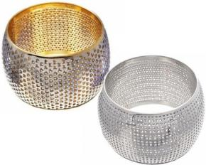 Lesa Michelle Stainless Steel Mesh Bangle Bracelet