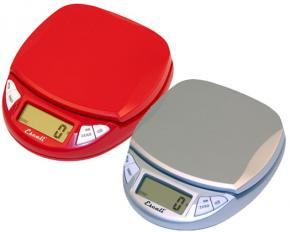 Escali N115CR Pico Digital Scale - Cherry Red