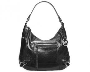 Michael Kors Fallon Large Shoulder Bag - Black