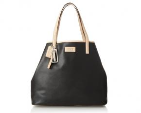 Coach Park Metro Leather Tote - Black