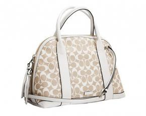 Coach Bleecker Preston Satchel - Ivory/New Khaki
