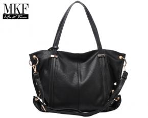 MKF Collection Beverly Shoulder Bag - Black
