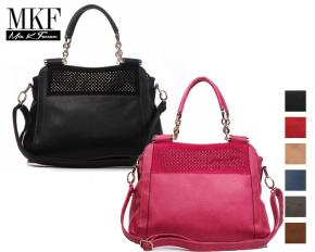 MKF Collection Marrion Handbag - Black