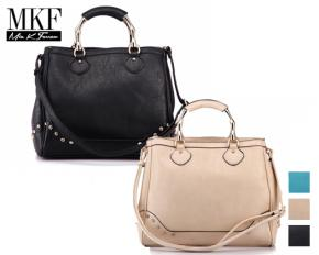 MKF Collection Marissa Shoulder Bag - Black