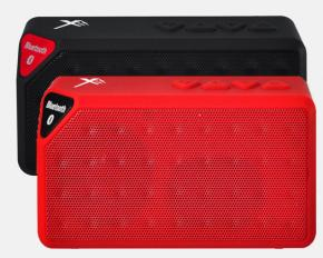Xit AXTRECBK Rectangular Bluetooth Speaker - Black