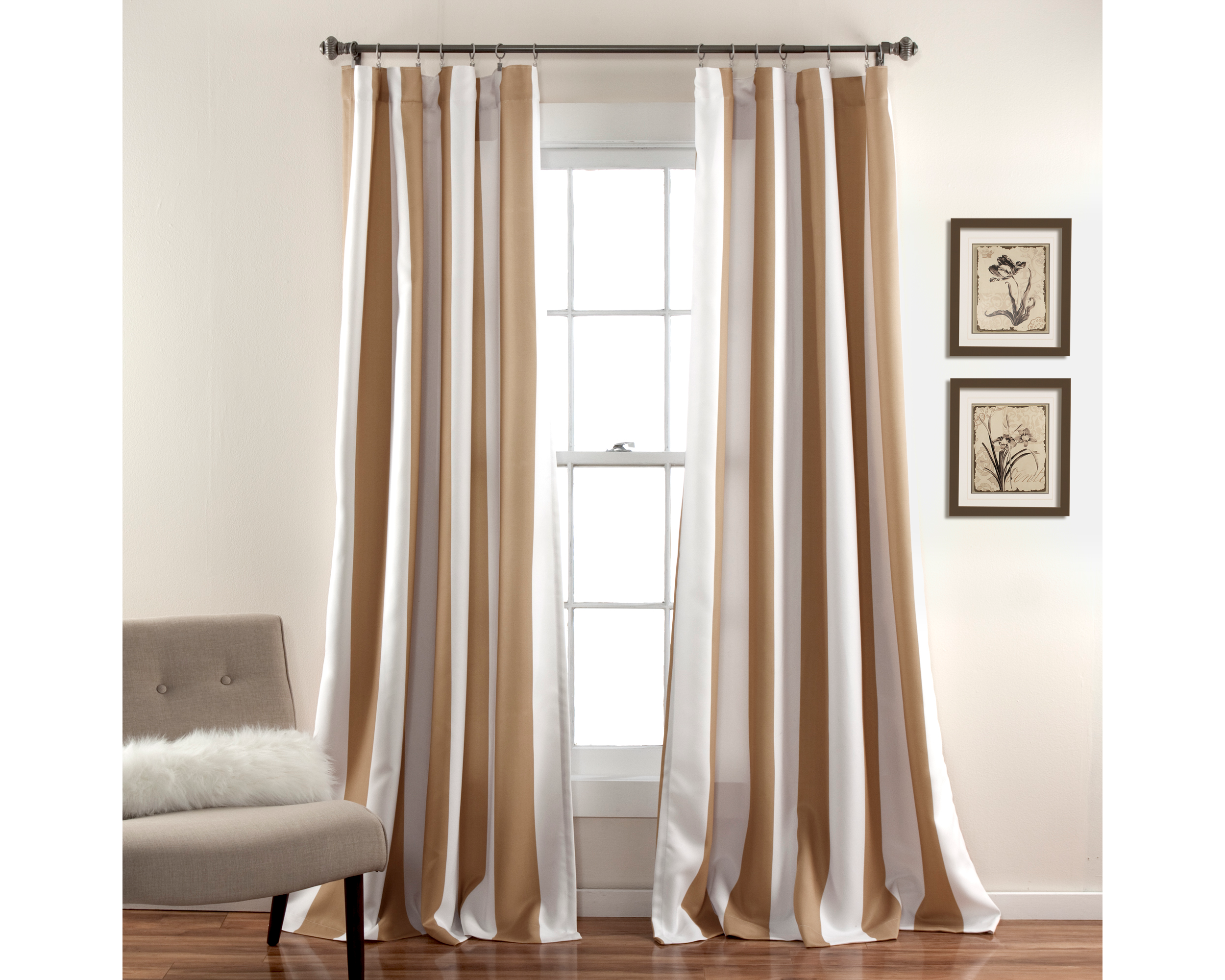 half moon wilbur window curtain set ebay. Black Bedroom Furniture Sets. Home Design Ideas