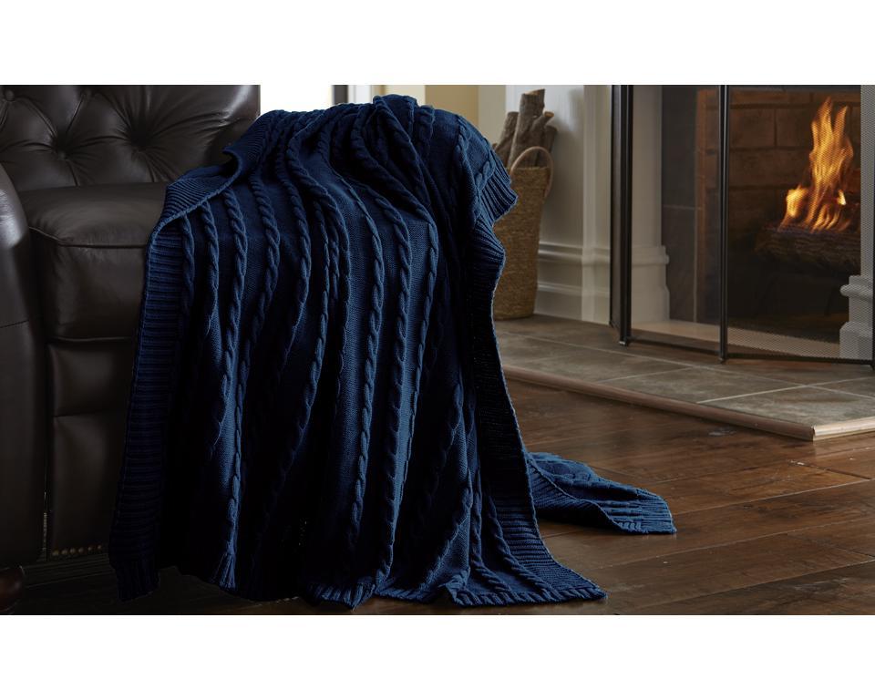 home decor oversized sweater knit throw ebay