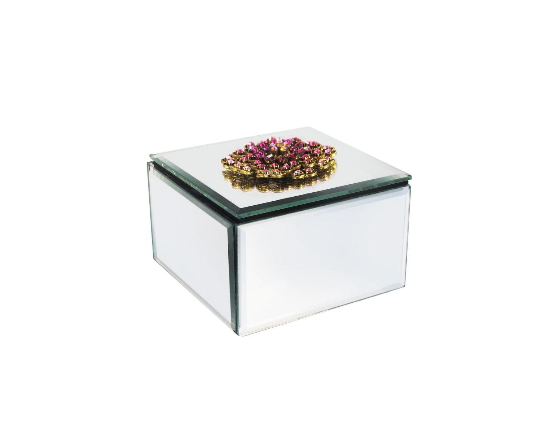 American atelier mirror jewelry box ebay for Mirror jewelry box