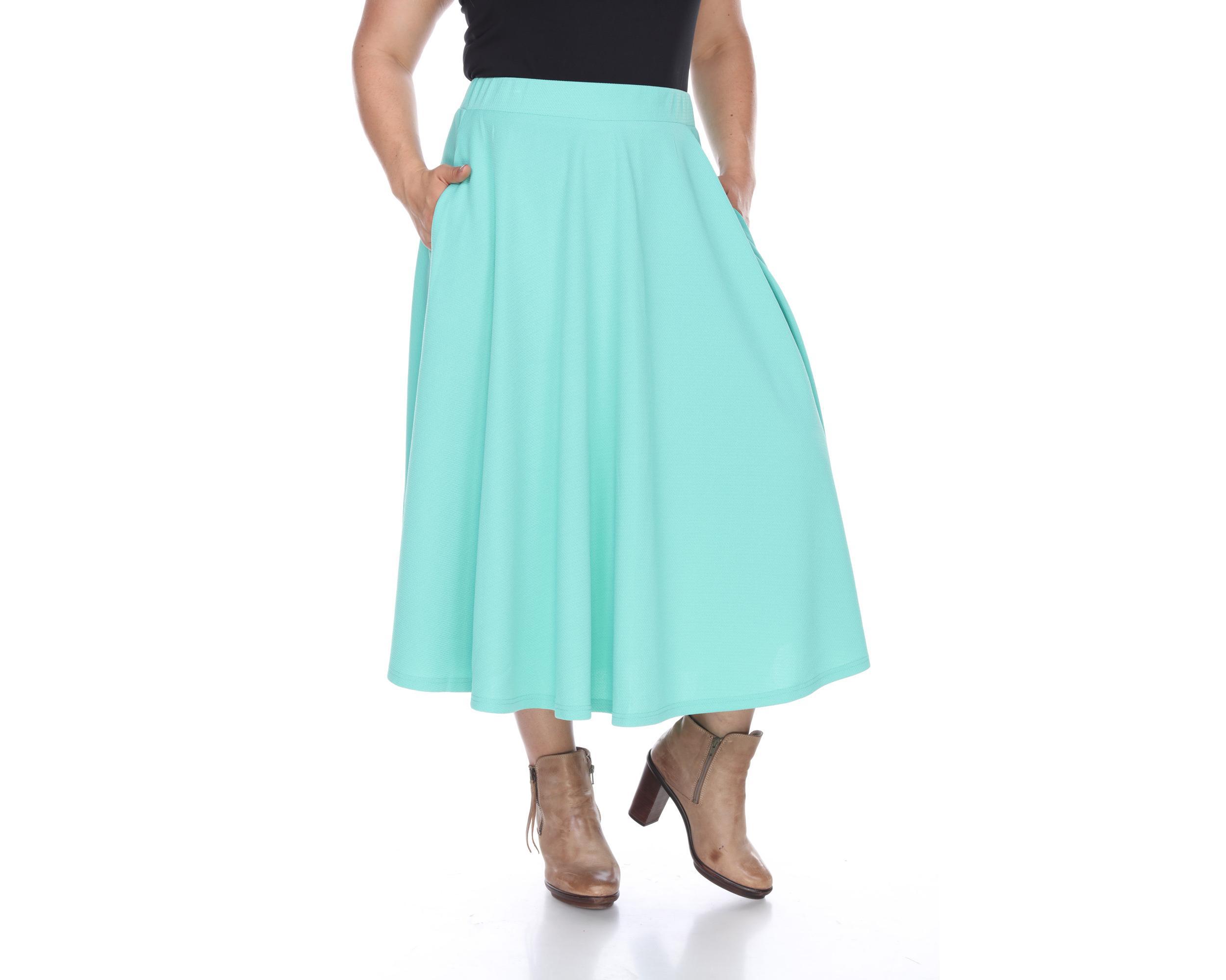 white plus tasmin flare midi skirt ebay