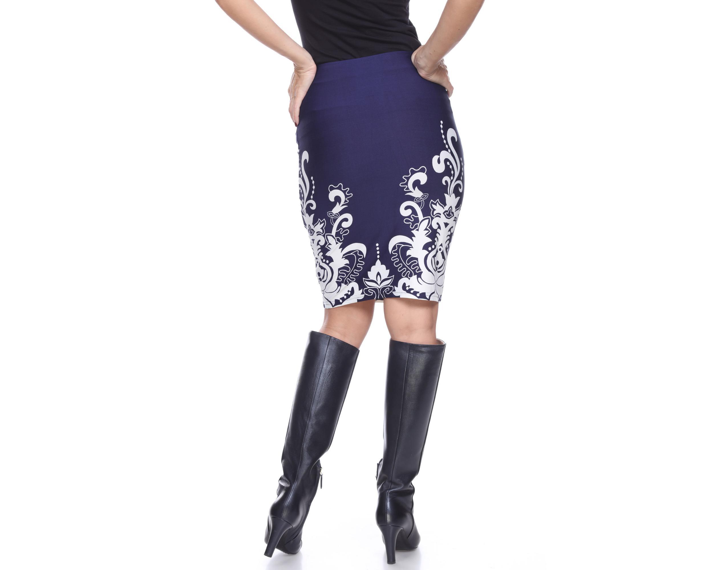 white knee length pencil skirt ebay
