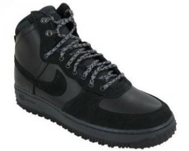 Nike Men\u0026#39;s Air Force 1 HI DCN Military Boots - Black - Size 10 - QuiBids.com
