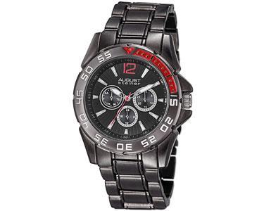 c66c2a9aeda82 August Steiner Men s Quartz Multifunction Bracelet Watch - Black - AS8077BK