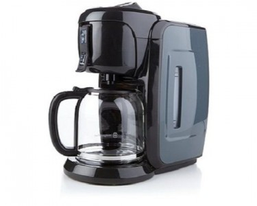 How To Use Wolfgang Puck Coffee Maker : Wolfgang Puck 12 Cup Coffee Maker - Gray - QuiBids.com