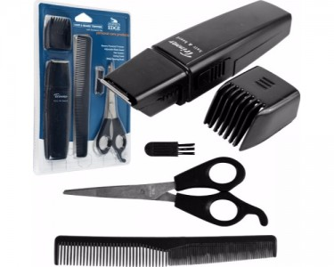 journey 39 s edge hair beard trimmer with accessory set. Black Bedroom Furniture Sets. Home Design Ideas