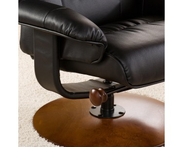 Marvelous Southern Enterprises Bonded Leather Recliner And Ottoman Uwap Interior Chair Design Uwaporg
