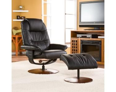 Astounding Southern Enterprises Bonded Leather Recliner And Ottoman Uwap Interior Chair Design Uwaporg
