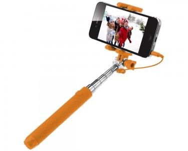 xit axtwrmpor wired selfie monopod orange. Black Bedroom Furniture Sets. Home Design Ideas
