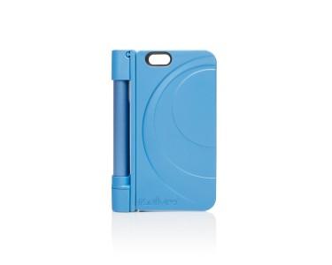 selfme 2 in 1 apple iphone 6 selfie stick case blue. Black Bedroom Furniture Sets. Home Design Ideas