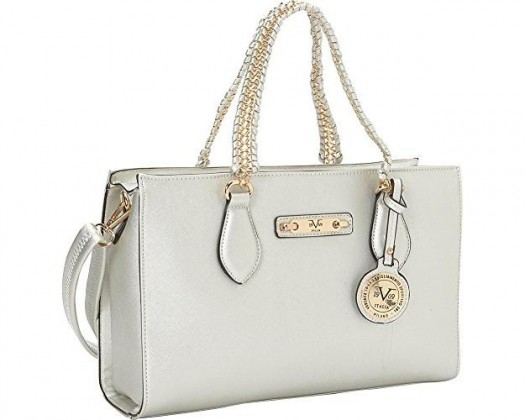 b4a9342b33df ... cheap for discount 25318 c037f chicmarket.com - Versace V1969 Italia  Felicitas Chain Shoulder Bag ...