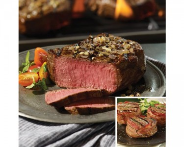 how to cook omaha steaks filet mignon with bacon